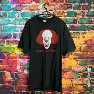 Clowns Aren't Funny Graphic Tee